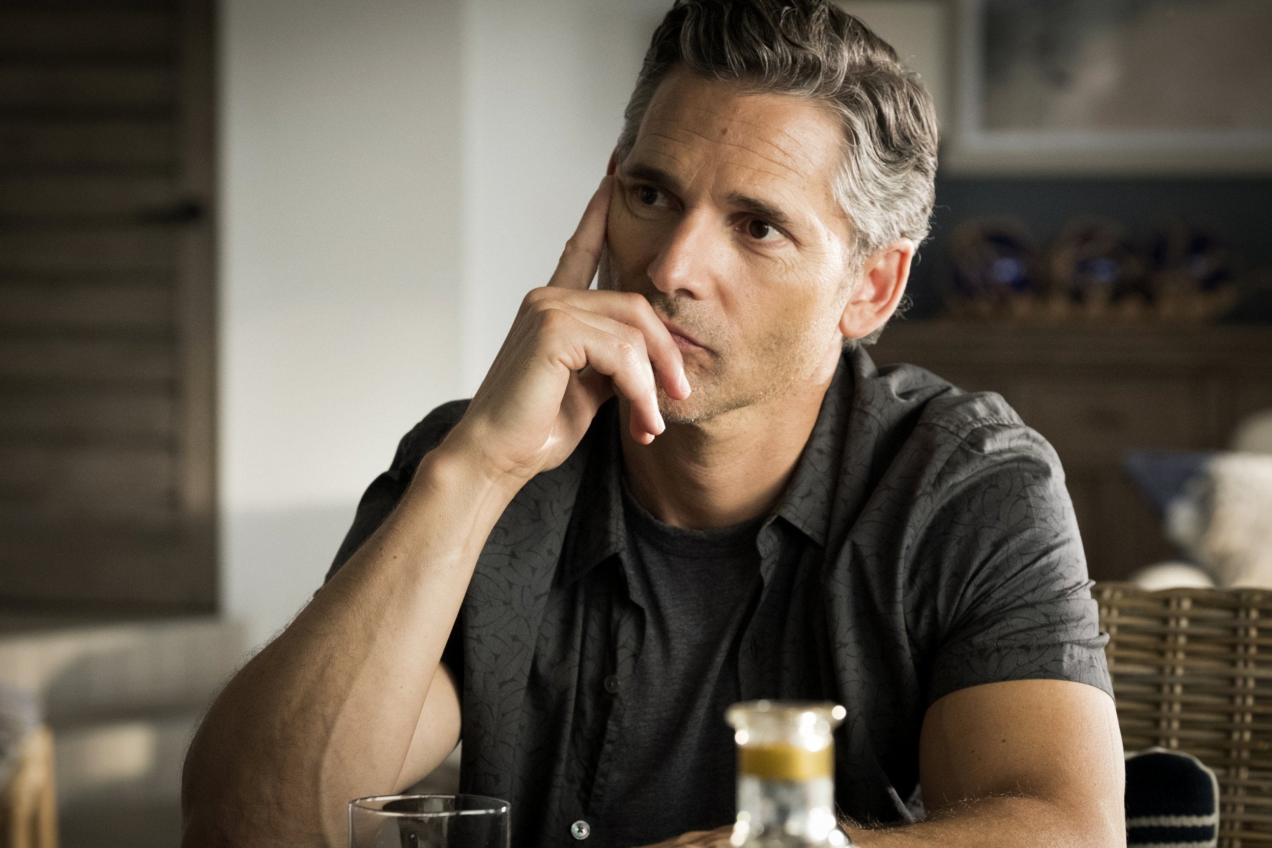 "DIRTY JOHN -- ""Red Flags and Parades"" Episode 102 -- Pictured: Eric Bana as John Meehan -- (Photo by: Nicole Wilder/Bravo)"