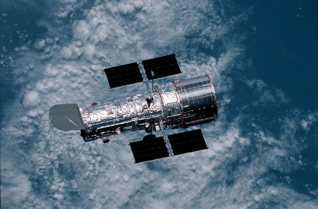 UNSPECIFIED - OCTOBER 03: The Hubble Space Telescope, Space (Photo by NASA/National Geographic/Getty Images)