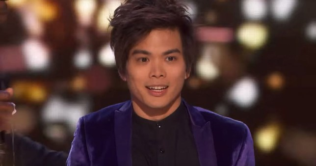 METRO GRAB - taken from the YouTube of America's Got Talent without permission Shin Lim thinks other AGT acts were better than him Credit: America's Got Talent