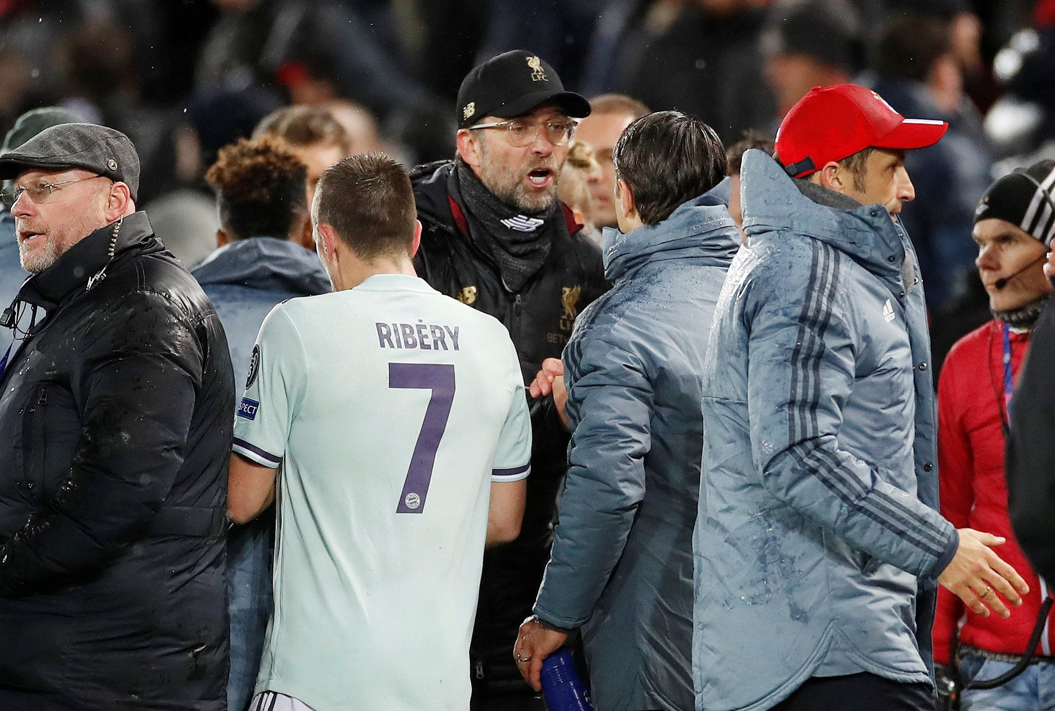 Liverpool v Bayern Munich - Why Jurgen Klopp was angry with Niko Kovac at full-time