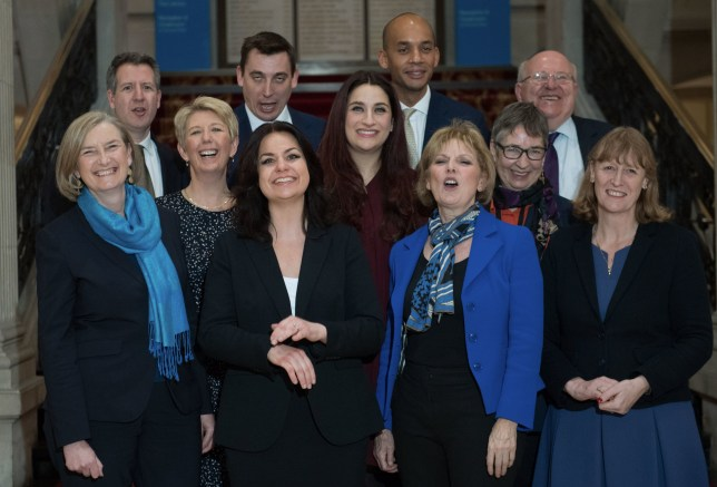 The 11 MPs in The Independent Group