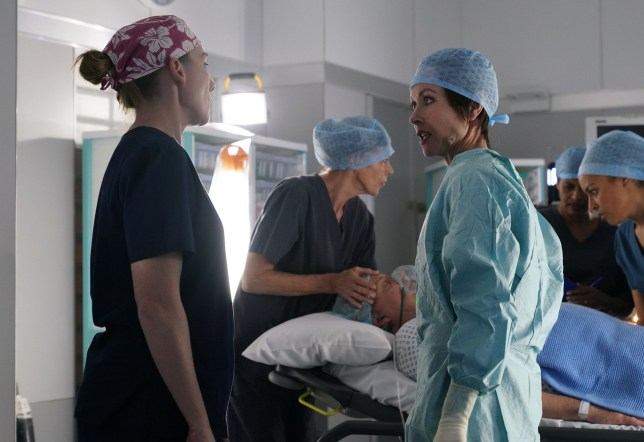 Connie back in Holby City permanently?