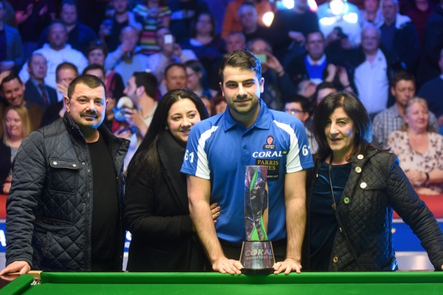 Michael Georgiou interview Michael Georgiou won the Coral Snooker Shoot Out in 2018 Provider: World Snooker Source: http://www.worldsnooker.com/wp-content/uploads/2018/02/DSC_2700.jpg