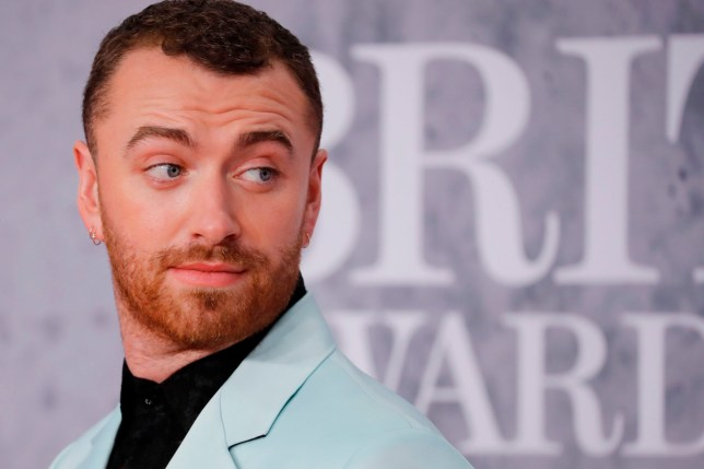 British singer-songwriter Sam Smith poses on the red carpet on arrival for the BRIT Awards 2019 in London on February 20, 2019. (Photo by Tolga AKMEN / AFP) / RESTRICTED TO EDITORIAL USE NO POSTERS NO MERCHANDISE NO USE IN PUBLICATIONS DEVOTED TO ARTISTSTOLGA AKMEN/AFP/Getty Images