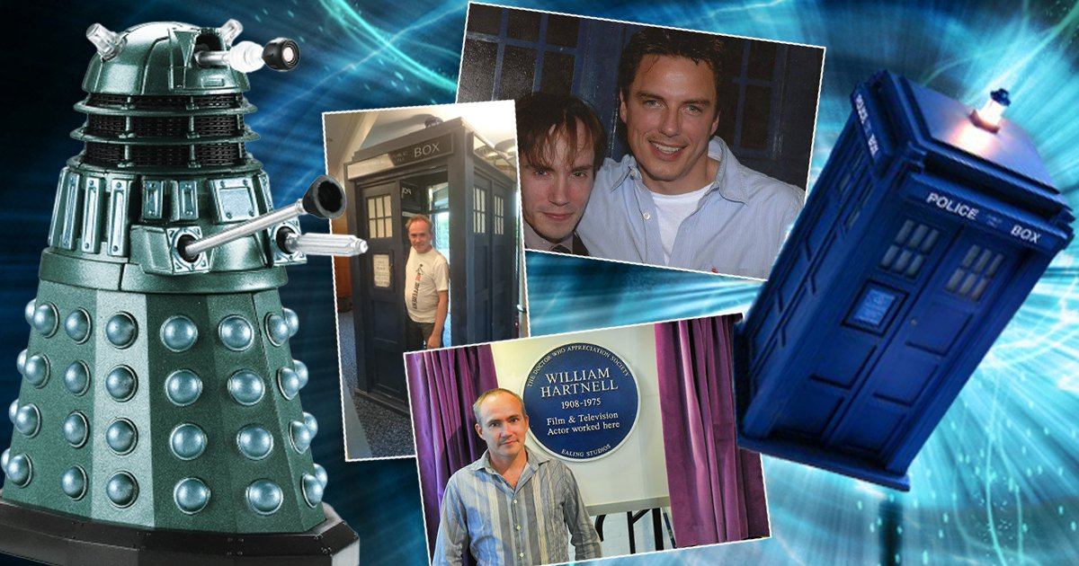 I'm Your Biggest Fan: The Whovian who's dedicated a lot of time and space to Doctor Who