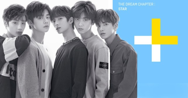 TXT tracklisting for debut album