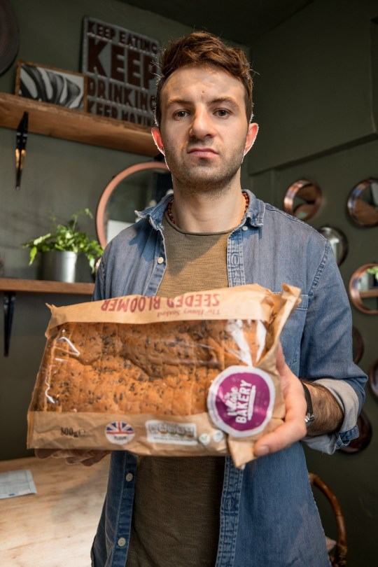 - Picture of Marcin Konieczny, 35, with the Aldi bread that caused him to have a false positive in a drugs test and losing his job TRIANGLE NEWS 0203 176 5581 // contact@trianglenews.co.uk By Helena Kelly A FACTORY worker who lost his job after failing a drugs test claims a loaf of BREAD from Aldi is to blame. Marcin Konieczny, 35, insists he has never smoked or taken drugs and only consumes one glass of wine a month. However, two weeks into his new role as a machine operator, a random drug test came back positive and bosses sacked him on the spot.