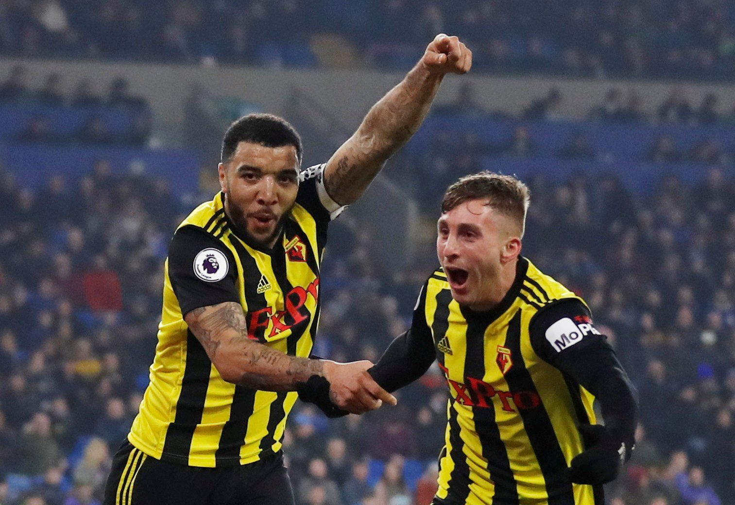 Gerard Deulofeu joins Arsenal legend Thierry Henry in exclusive three-man club after Cardiff hat-trick