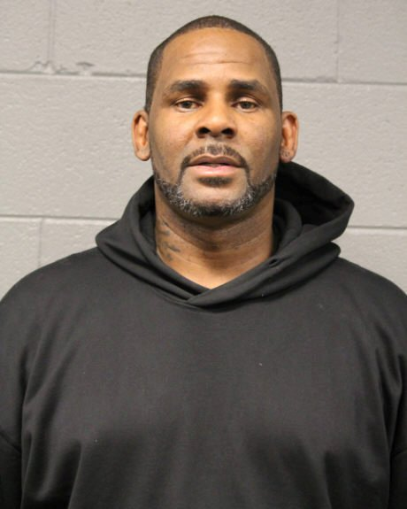 Singer Robert Kelly, known as R. Kelly, appears in a booking photo provided by the Chicago Police Department in Chicago, Illinois, U.S., on February 23, 2019. Courtesy Chicago Police Department/Handout via REUTERS ATTENTION EDITORS - THIS IMAGE WAS PROVIDED BY A THIRD PARTY.