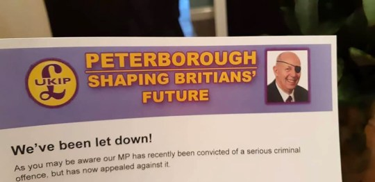 Picture: @strutcakes Ukip Councillor Ridiculed After Misspelling 'Britain' On His Own Leaflet https://twitter.com/strutcakes/status/1098586411266199552