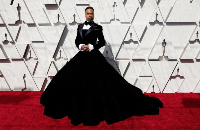 epa07394043 Billy Porter arrives for the 91st annual Academy Awards ceremony at the Dolby Theatre in Hollywood, California, USA, 24 February 2019. The Oscars are presented for outstanding individual or collective efforts in 24 categories in filmmaking. EPA/ETIENNE LAURENT *** Local Caption *** 54174449