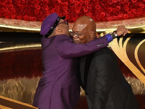 Spike Lee wins first Oscar – and Samuel L. Jackson really can't contain his excitement