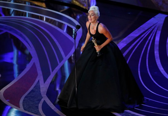 Lady Gaga becomes first woman to win Oscar, Grammy, Bafta and Golden