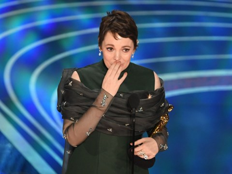 Olivia Colman will keep Oscar in bed 'between' her and husband Ed Sinclair