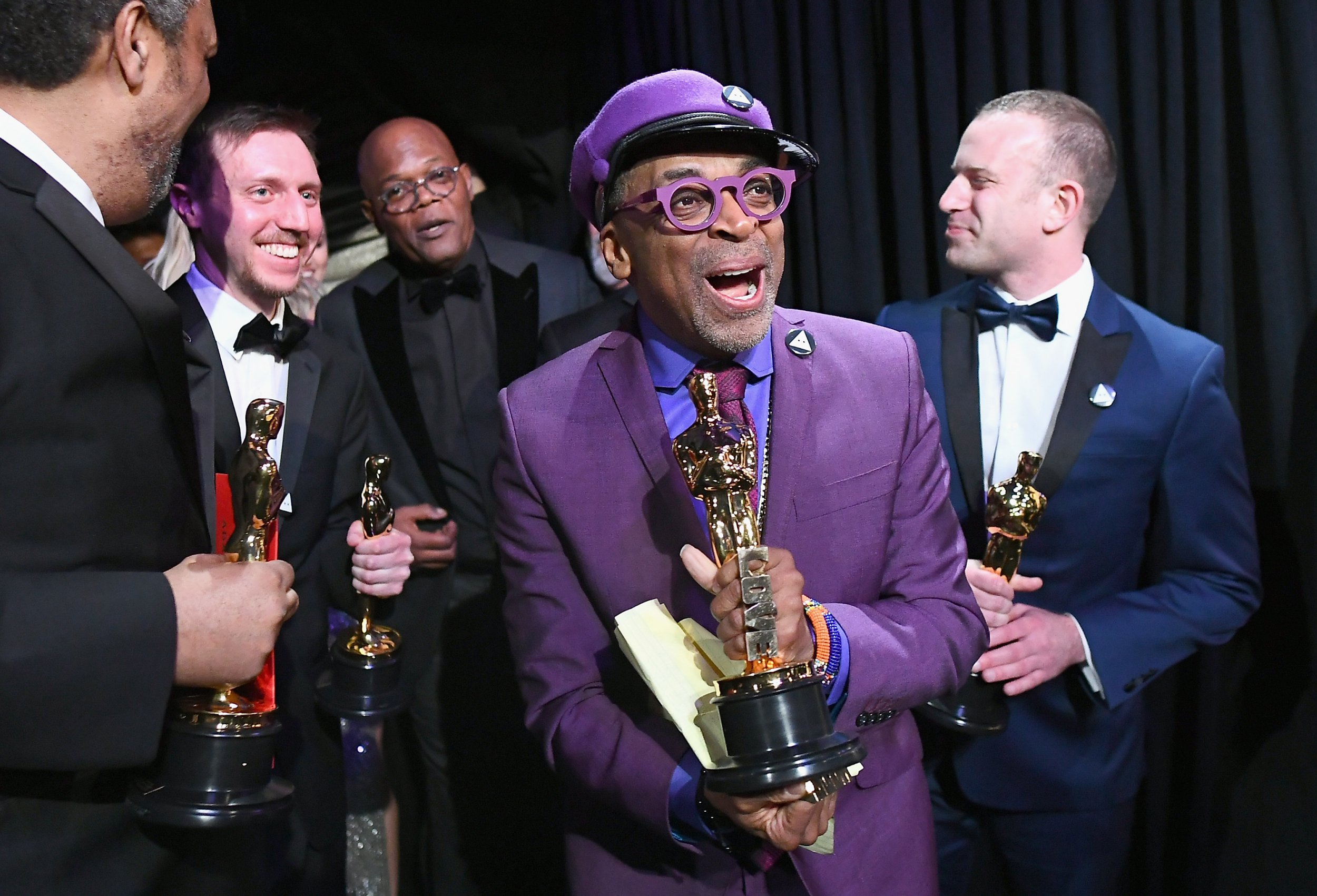 Spike Lee was extremely last minute with his Oscars acceptance speech and actually wrote it backstage