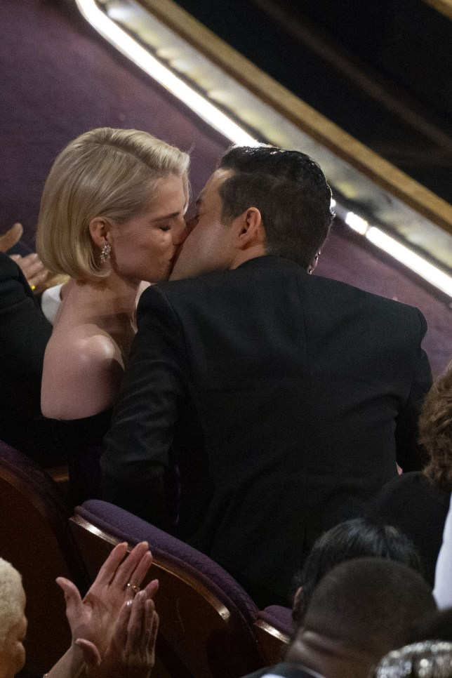 THE OSCARS?? - The 91st Oscars?? broadcasts live on Sunday, Feb. 24, 2019, at the Dolby Theatre?? at Hollywood & Highland Center?? in Hollywood and will be televised live on The ABC Television Network at 8:00 p.m. EST/5:00 p.m. PST. (Ed Herrera via Getty Images) LUCY BOYNTON, RAMI MALEK