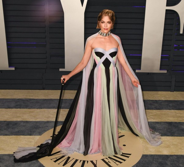 Mandatory Credit: Photo by imageSPACE/REX (10118757dk) Selma Blair Vanity Fair Oscar Party, Arrivals, Los Angeles, USA - 24 Feb 2019