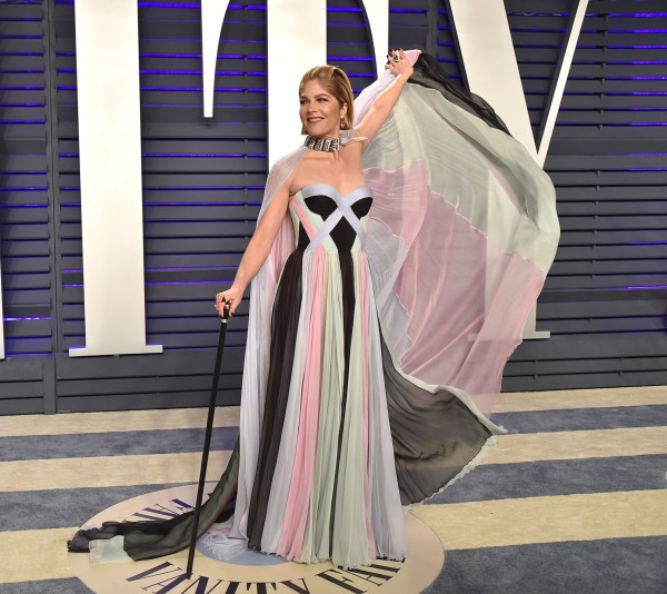 2019 Vanity Fair Oscar Party hosted by editor Radhika Jones held at the Wallis Annenberg Center for the Performing Arts on February 24, 2019 in Beverly Hills, CA. ?? OConnor-Arroyo/AFF-USA.com. 24 Feb 2019 Pictured: Selma Blair. Photo credit: OConnor-Arroyo/AFF-USA.com / MEGA TheMegaAgency.com +1 888 505 6342
