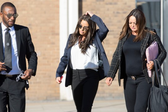 Katie Price arrives at Bexley Magistrates' Court for her drink driving court case. PRESS ASSOCIATION Photo. Picture date: Monday February 25, 2019. She was originally arrested on suspicion of drink-driving following an alleged incident on Shooters Hill Road, Woolwich. See PA story COURTS Price. Photo credit should read: Rick Findler/PA Wire