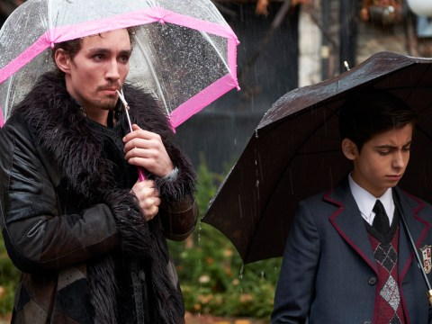 The Umbrella Academy's Robert Sheehan has no idea what iconic dance scene was about either