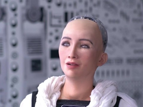 MWC 2019: Sophia the robot chats to punters at tech show