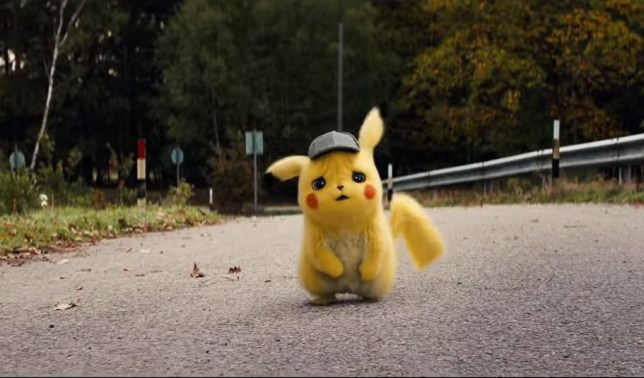 Image result for pokémon detective pikachu cast