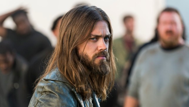 Tom Payne and Jesus in The Walking Dead