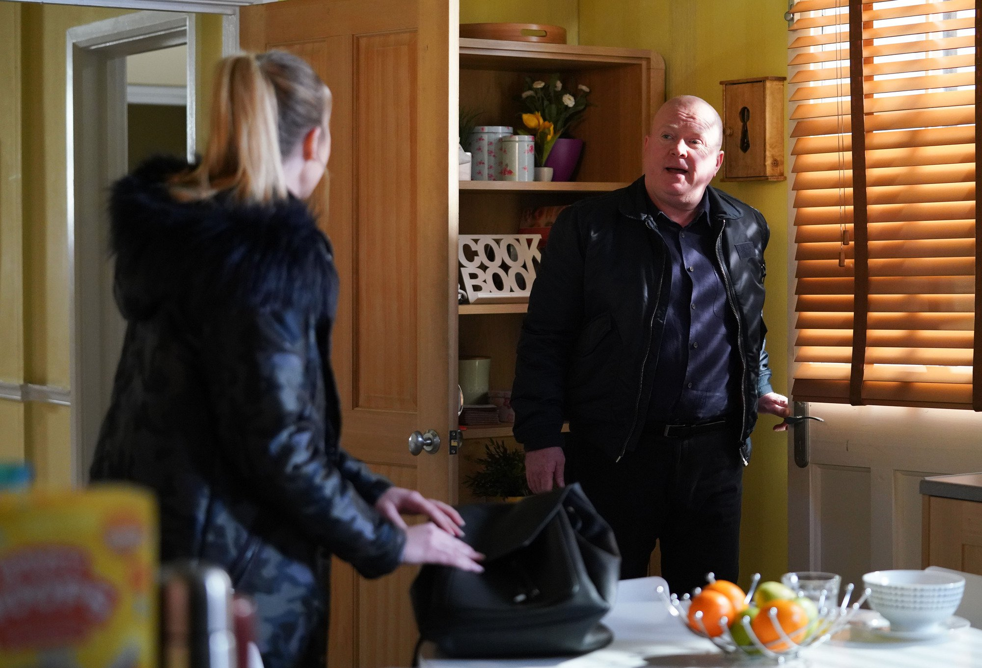 EastEnders spoilers: Louise in grave danger as thug takes on Phil Mitchell