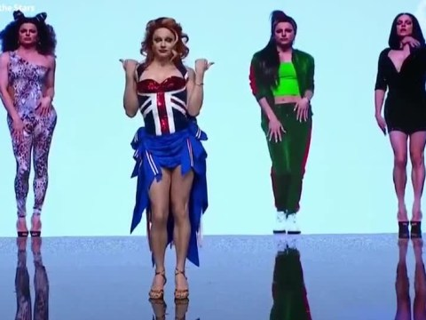 Courtney Act brings zig-a-zig-ah to Dancing With The Stars as Ginger Spice