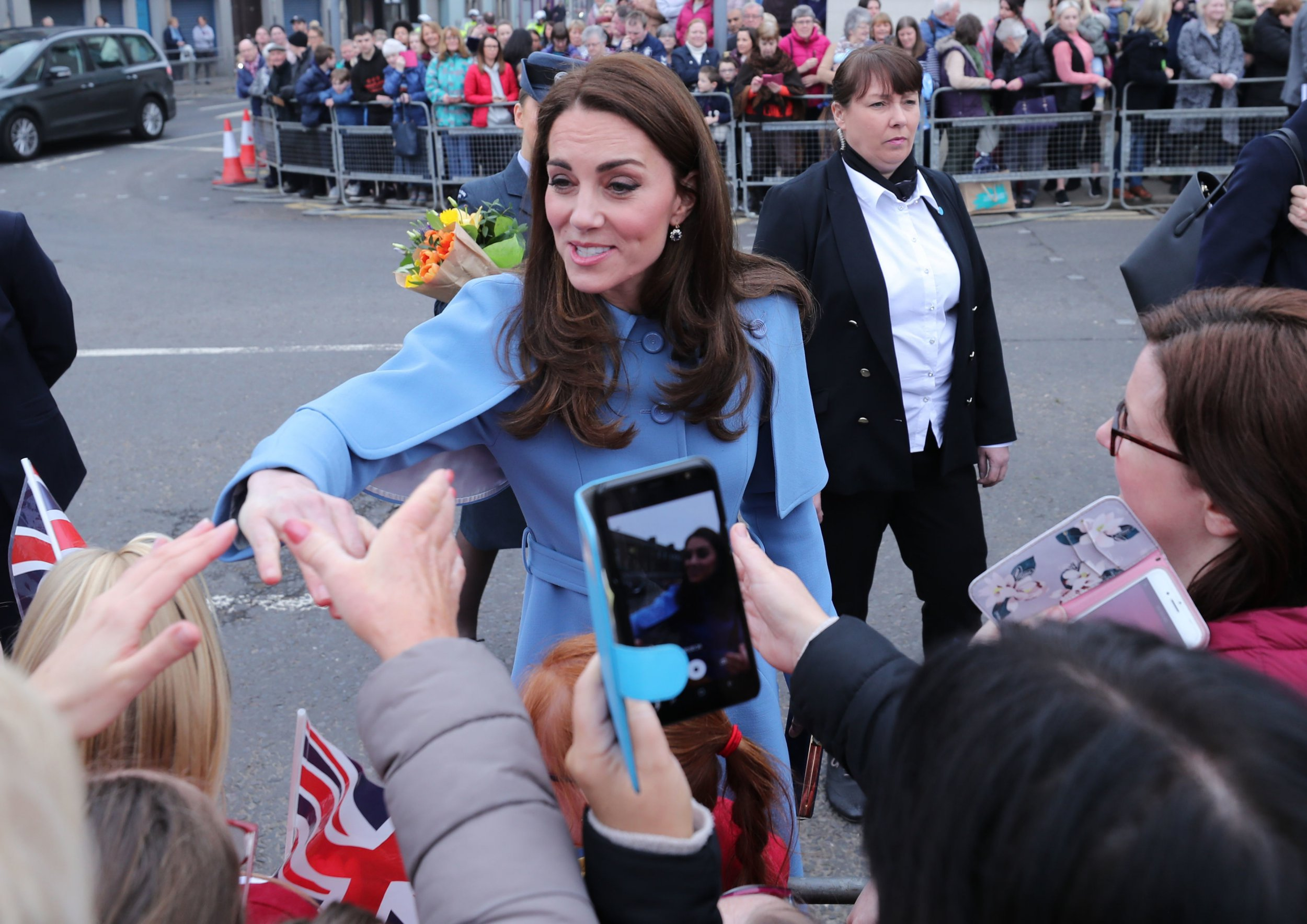 Kate hints she might be ready for fourth child with 'very broody' comment