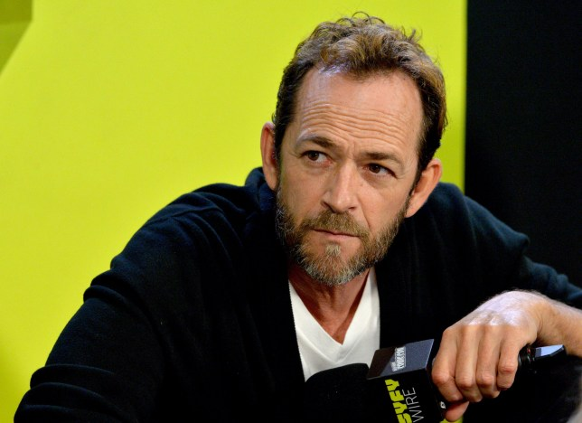 Mandatory Credit: Photo by Erik Pendzich/REX/Shutterstock (9916925ai) Luke Perry 'Riverdale' TV show panel, New York Comic Con, USA - 07 Oct 2018