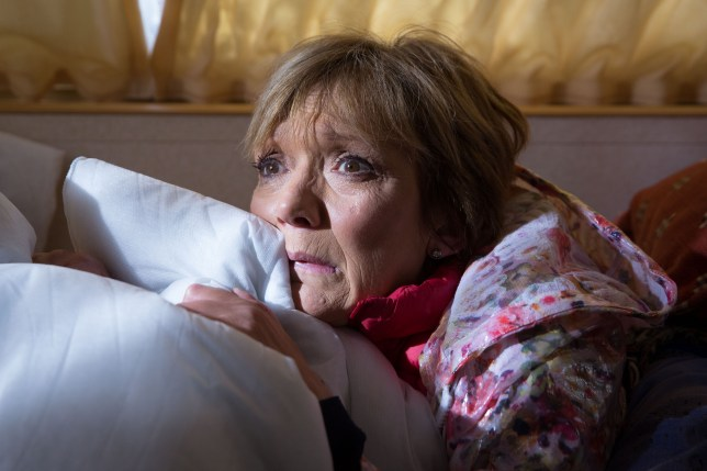 Jean is left in a panic in EastEnders