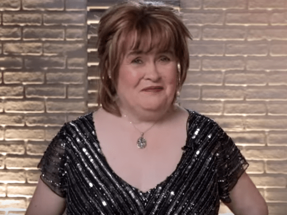 Susan Boyle confesses she'd 'be awful at office work' following America's Got Talent: The Champions defeat
