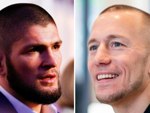 Georges St-Pierre responds to Khabib Nurmagomedov's offer to fight before retirement