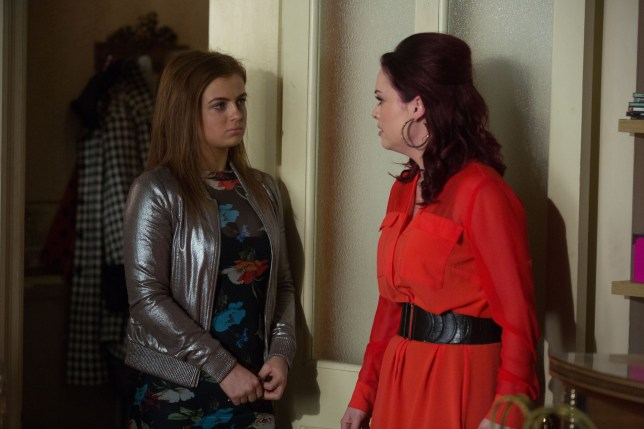 Whitney and Tiffany in EastEnders