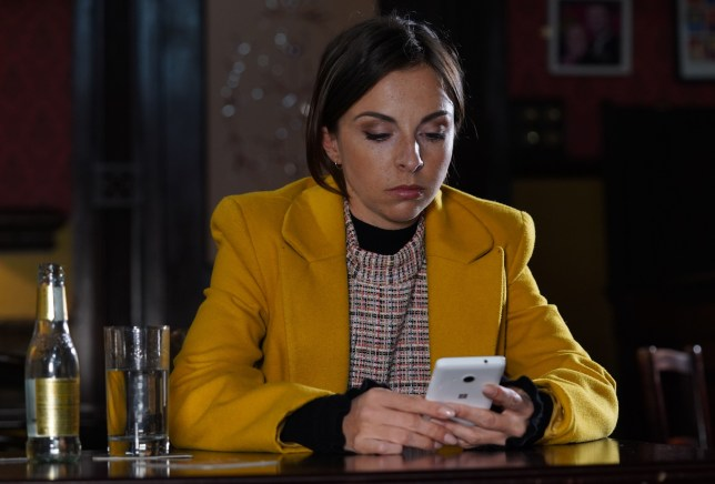 Ruby forms a plan in EastEnders