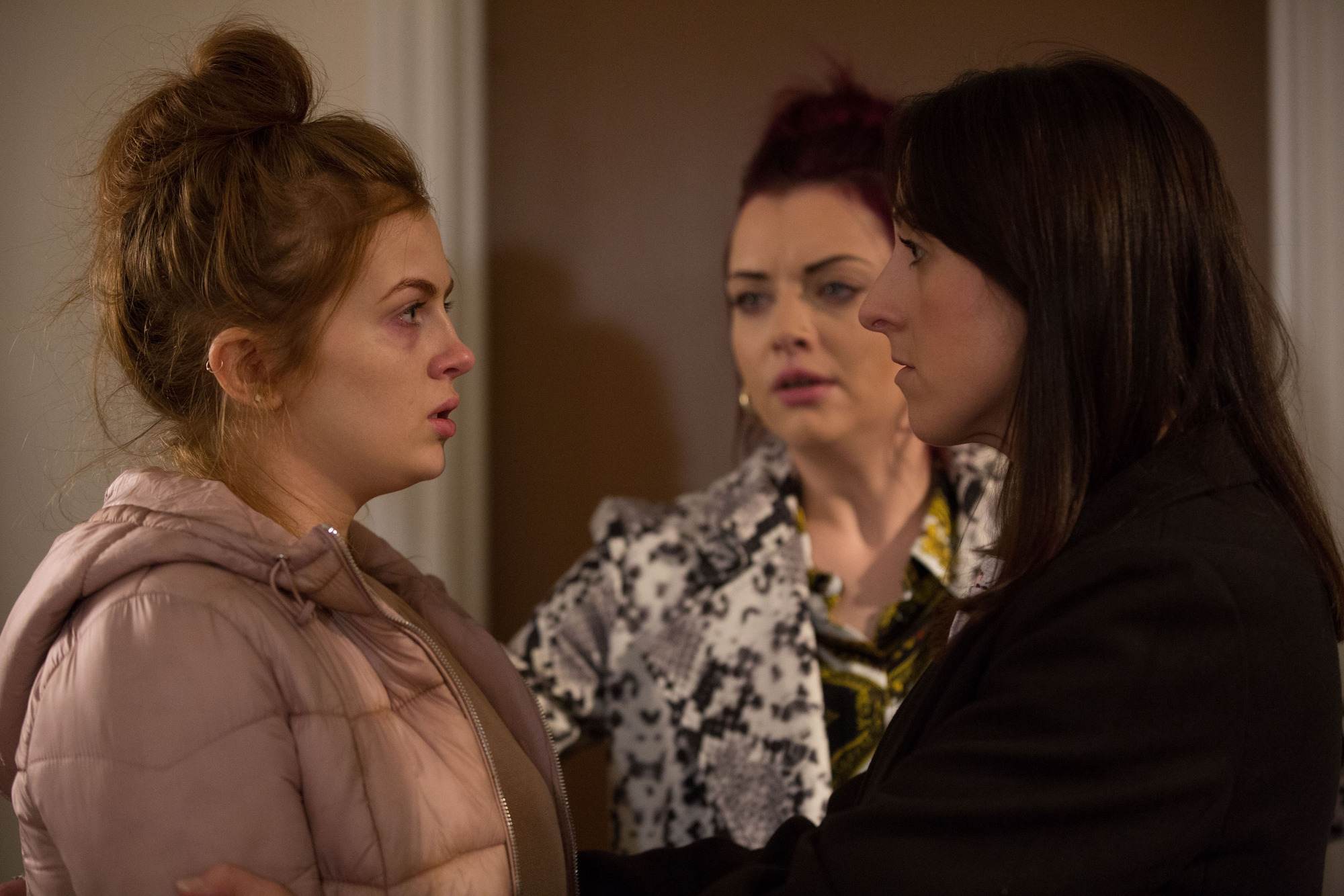 Tiffany loses it in EastEnders