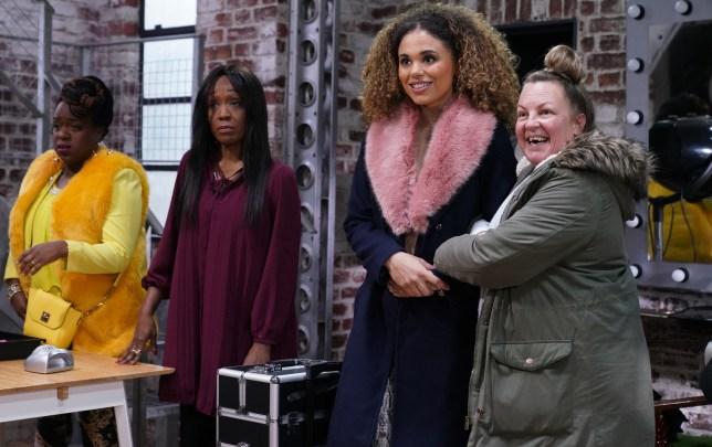 Chantelle arrives in EastEnders