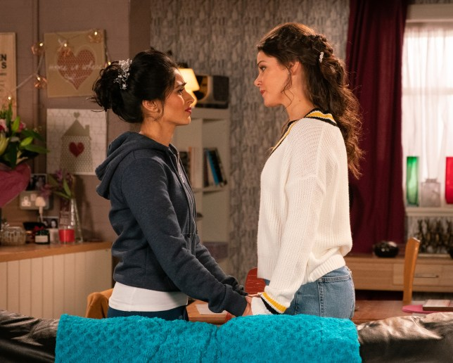 Kate is shocked by what she finds from Rana