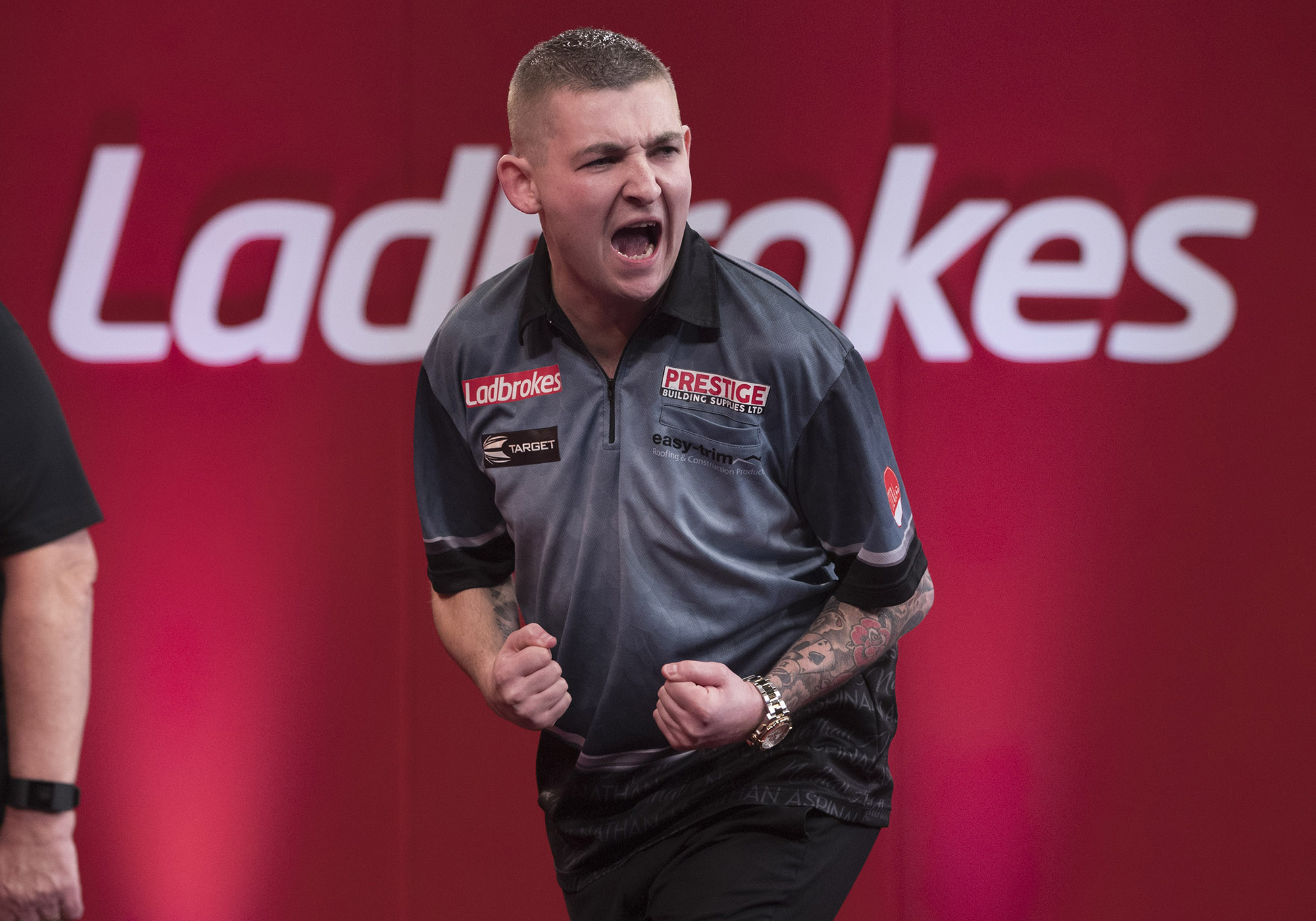 Nathan Aspinall makes strides while Raymond van Barneveld slips out of top 32 in PDC Order of Merit after UK Open