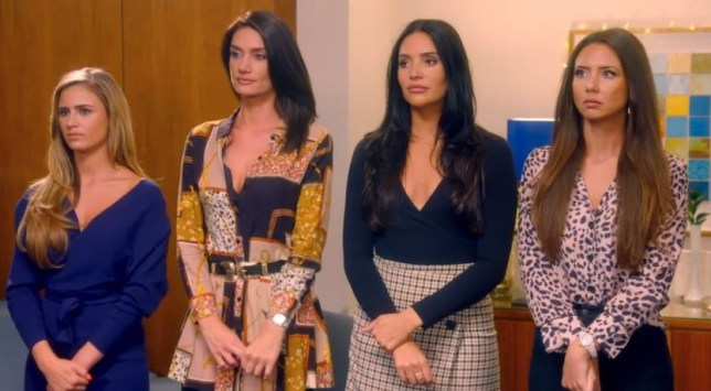 Things got intense on The Bachelor (Picture: Channel 5)