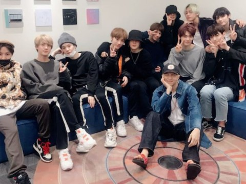 BTS and TXT team up for epic Big Hit photo and we are stanning so hard