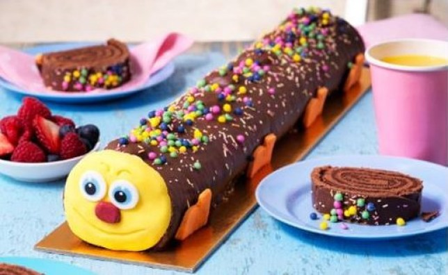 Asda Launches A Giant Caterpillar Cake Thats Over Foot Long