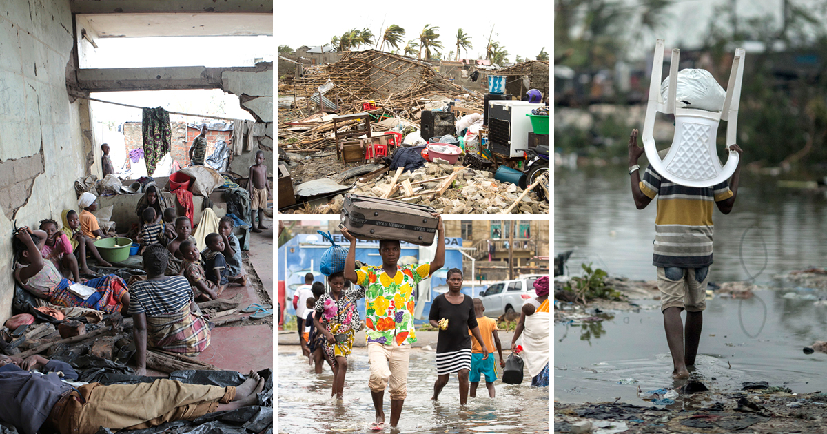 More than 15,000 still missing after huge cyclone hit Mozambique