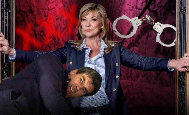 Kim Tate makes Cain Dingle her sex slave