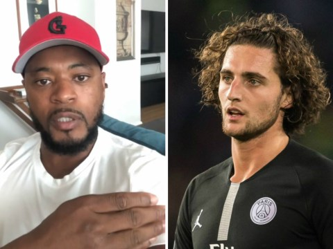 Adrien Rabiot 'likes' Patrice Evra's Instagram rant after Manchester United's win over PSG