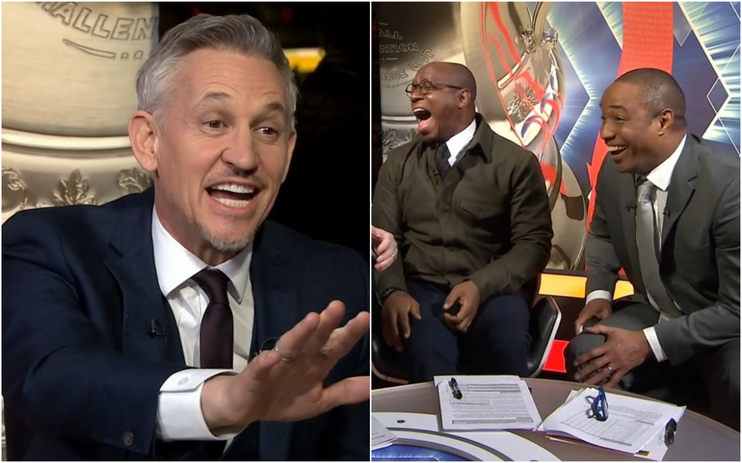 Gary Lineker rinses Paul Ince on live TV over his Ole Gunnar Solskjaer and Manchester United comments