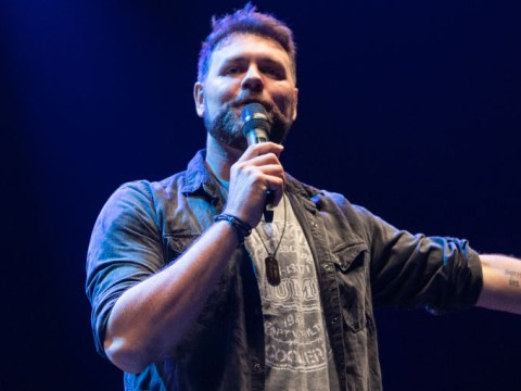 Brian McFadden belts out Westlife songs at Dancing On Ice wrap party to celebrate James Jordan's win