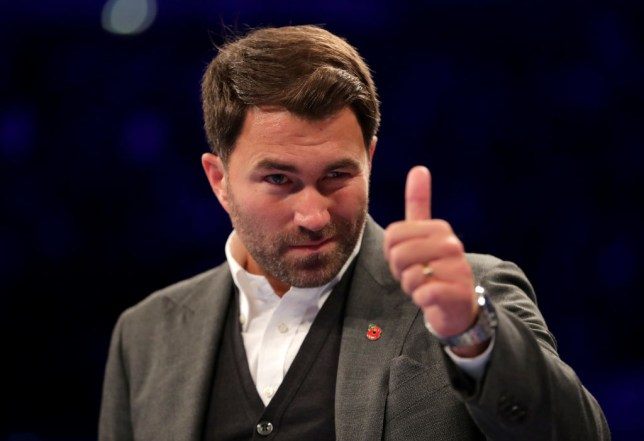 Eddie Hearn tears into Deontay Wilder's entourage over DAZN rejection