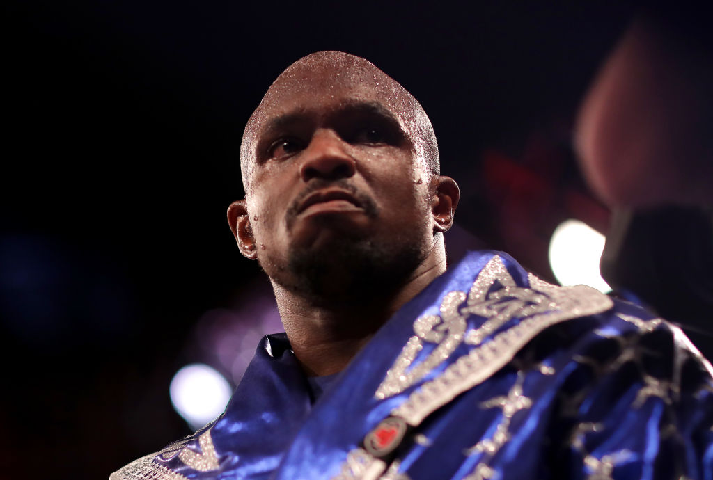 Frank Warren making play for Dillian Whyte as heavyweight considers split with Eddie Hearn